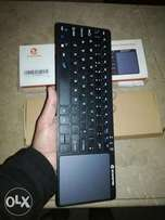 Ultra Slim Wireless Keyboard with Mouse Pad
