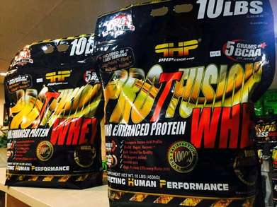 PHP Nutrition Whey Pro T Fusion 10lb Whey Isolate Blend Plus Amink