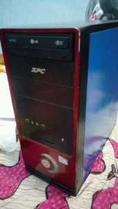 PC dual core ram 2gb hdd 320gb mobo asrock BU