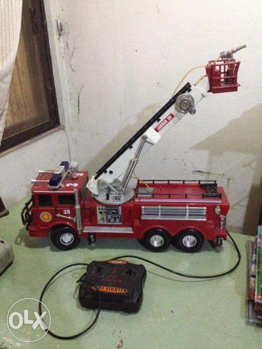 Big Toy Firetruck 22 Inches Long As Is In Quezon City Metro Manila