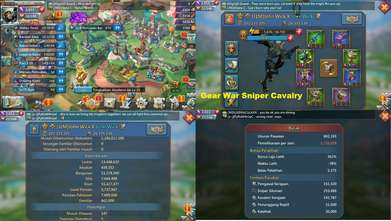 Jual Akun Game Lords Mobile Might 105M ~ Troops 550K T3 Mixed