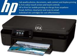 HP Photosmart 5524 All-in-One WiFi Photo Printer TouchScreen Refilable