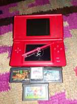 Nintendo Ds Lite with 10 cartridge