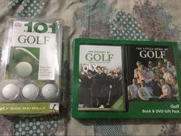 101 essential tips for golf with 3 golf balls gift. Imported from Uk