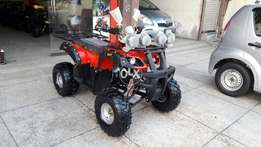 Red and Black Beauty Atv quad bike Available At SUBHAN ENTERPRISES