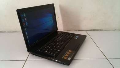 Laptop Lenovo G480, core i5 gaming & Desaign siap pakai