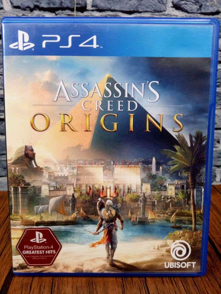 Bd Ps4 Assassins Creed Origins Game Cd Kaset Assasins Asasin Games Console 537614187