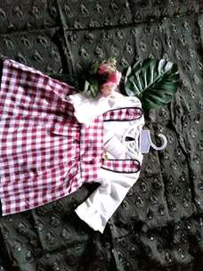 dress rabbit bayi/anak