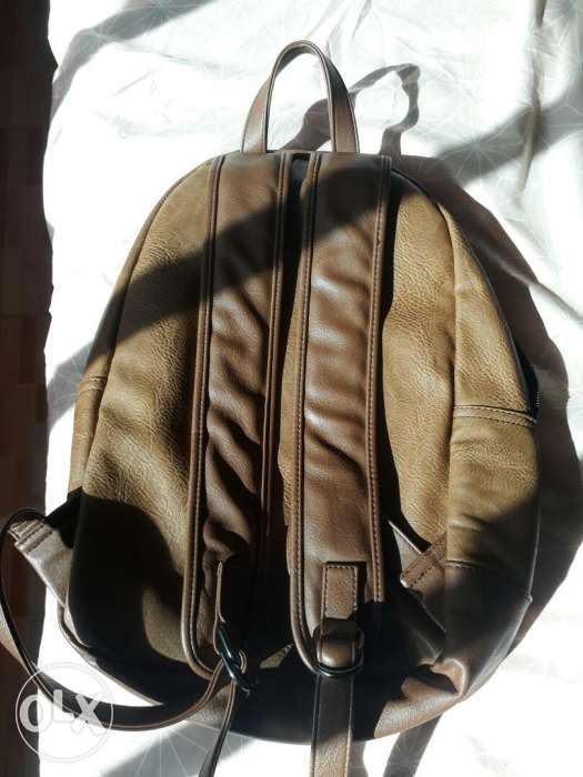 563c82b8d95 Aldo brown leather backpack in Binan