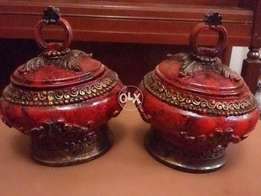 Vintage Victorian Pair of Bowls
