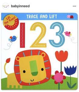 Belajar Berhitung - Babyinneed Lift The Flaps 123 Board Book