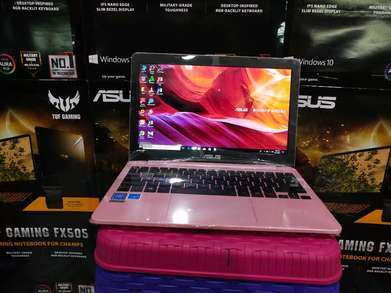 notebook asus e203nah pink edition
