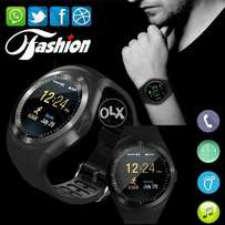 Buy Online Smart Watch Y1 With GSM Slot For IOS And Android With Camer