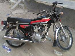 Honda CG125cc model 1991 in genuine and very good condition on my name