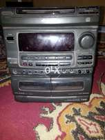 Aiwa deck with 110 adopter with free sansui FM tuner