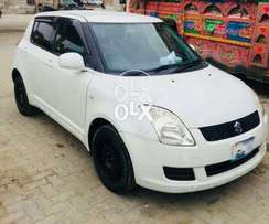 Suzuki swift 2008 japan imported Pearl white 1.3 in perfect condition