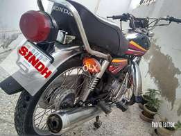Honda125 bike black orignal