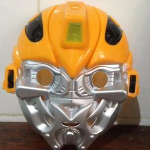 Topeng Bumble Bee Transformers Mask Dengan Lampu LED