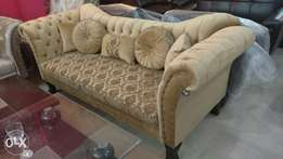 New sofa set | seven seater in fabric