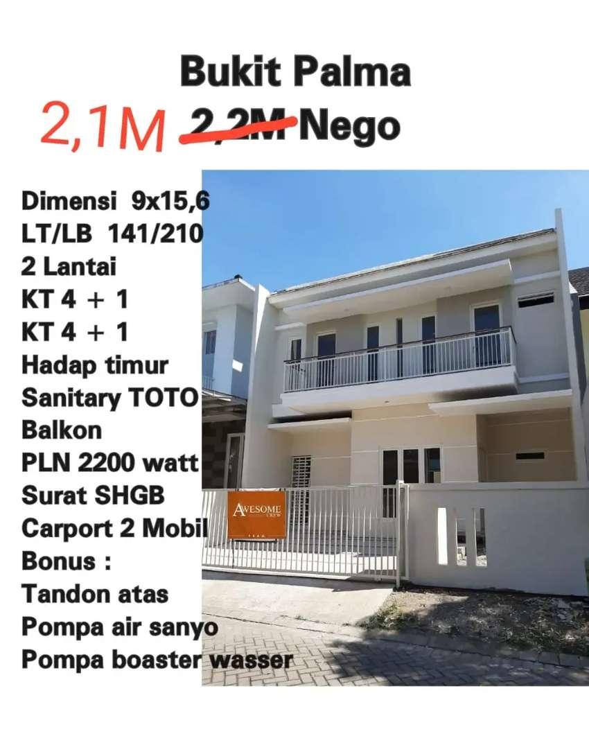Rumah 2 Lantai Bukit Palma Citraland Surabaya Barat Siap Huni Dijual Rumah Apartemen 818564481