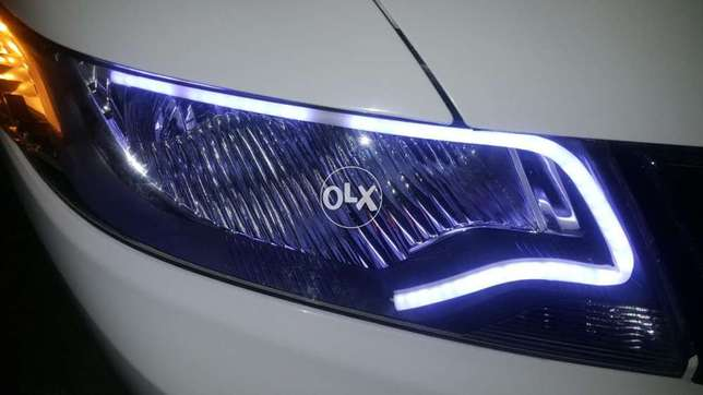 Honda city DLR lights