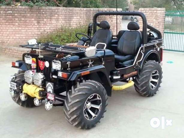 Ready all type jeep with many type features