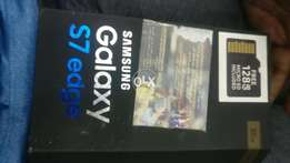 Glaxay s7 edge brnd new condition dual sim
