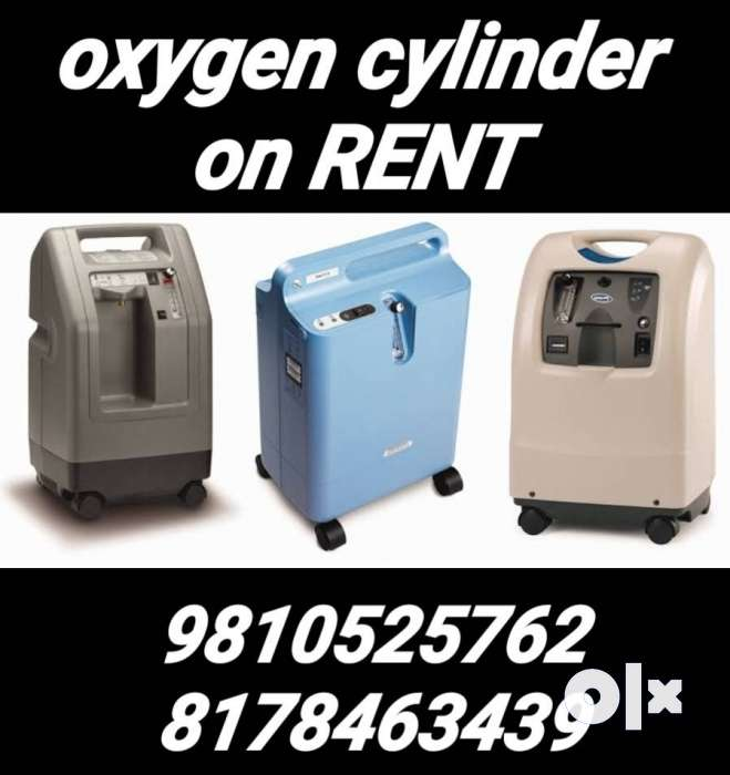 oxygen concentrator cylinder medical equipments on rent hire
