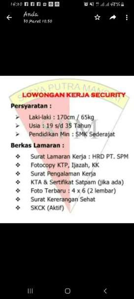 Lowongan Pekerjaan Cari Lowongan Security Terbaru Di Tangerang Selatan Kota Olx Co Id