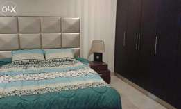 2beds apartment full furnished 4 rent in heights2ext bahria town rwp