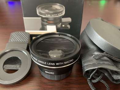Superwide 4K angle Lens HD 120 Derajat with Macro 15x