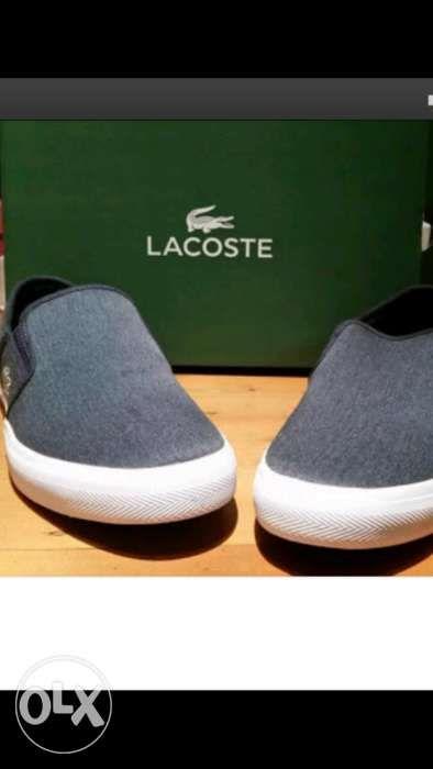 14b19090f Authentic Lacoste Gazon Slip On Shoes in Quezon City