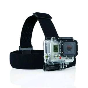 HS Action cam head strap anti slide for sjCam Gopro xiaomi yi