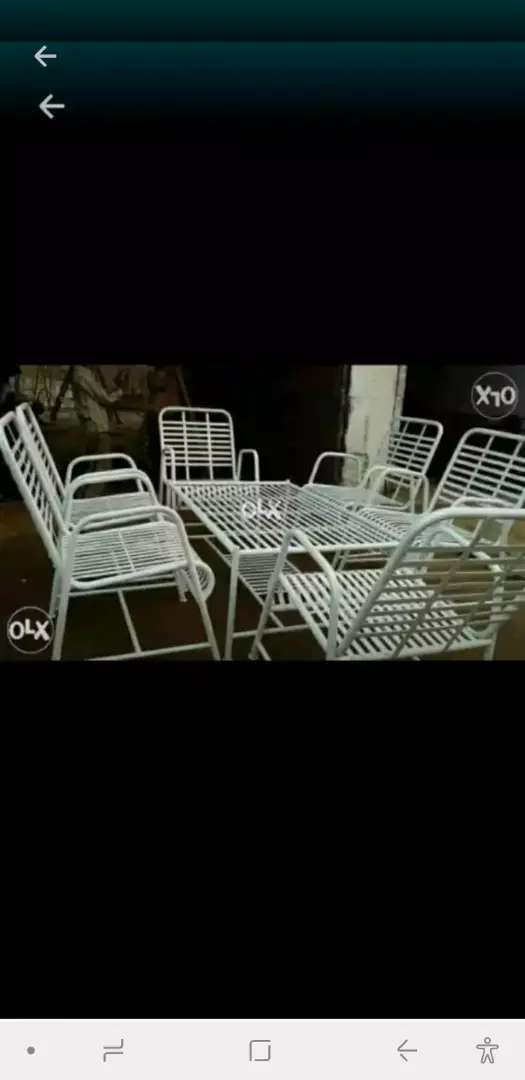 Iron Loan Chair Garden Outdoor 1004578123