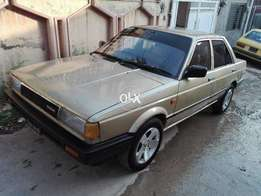 Totally Original Paint And Original Condition Nissan Sunny 1987.