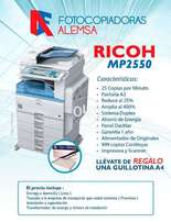 Photocopier machines 2550