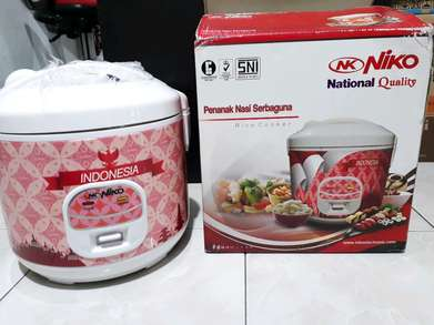 deliveryOrder magicom/magic com niko nk18 - rice cooker 1,8liter