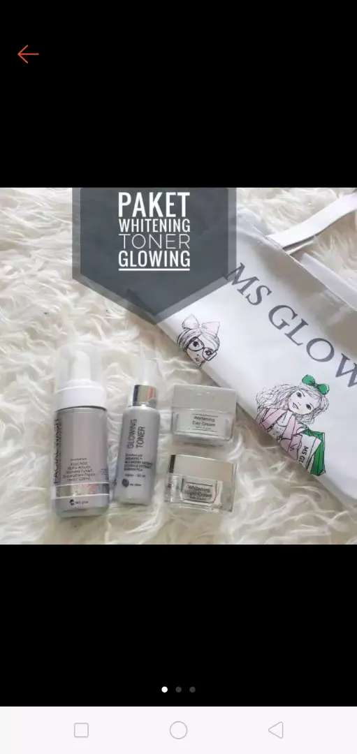Ms Glow Skincare All Varian Dari Acne Ultimate Dan Whitening Perawatan 773400448