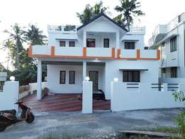 East facing 6 cent 4bhk attached 0pen well water