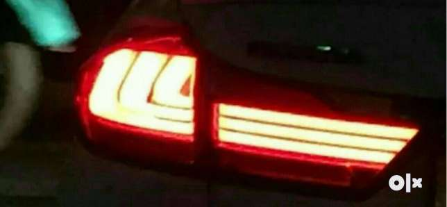 Honda city bmw style rear danger led taillight