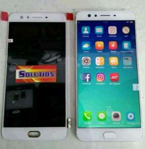 lcd+touchscreen Oppo F3 / 5 inch White #SOLUTION