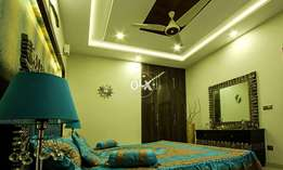 F11-/What A Beautiful Ground Portion 666_Yard Fully Furnished For Rent