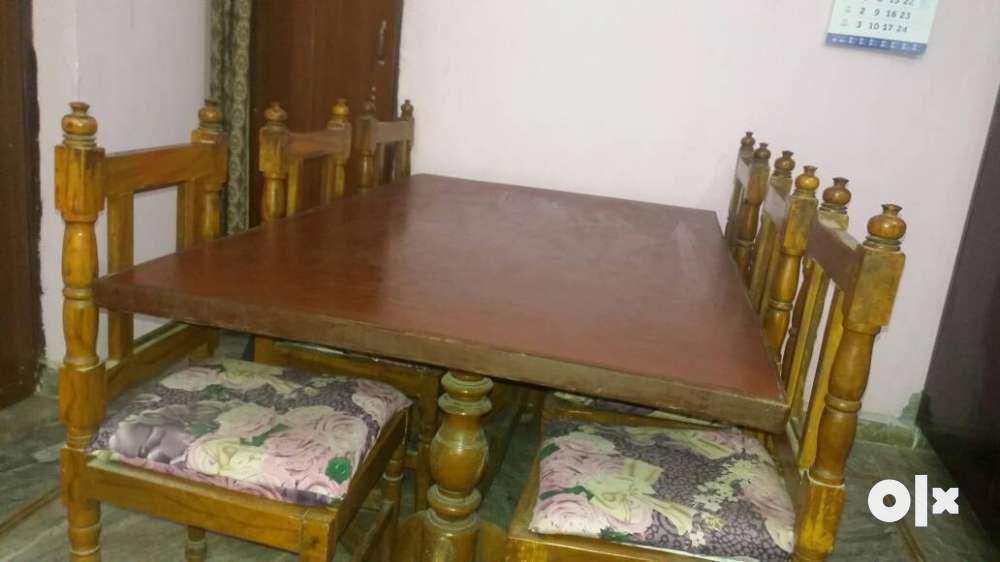 Dining table with 6 chairs in good condition Jaipur  : images1000x700inslot3filenamezrdestghq2972 IN from www.olx.in size 1000 x 562 jpeg 42kB