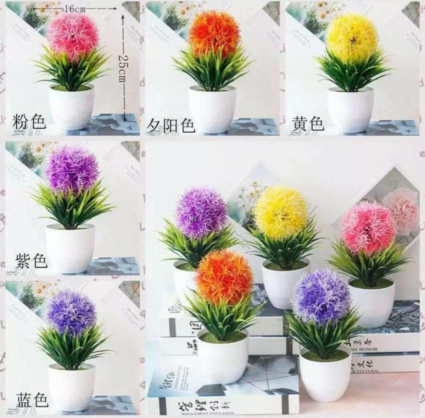 Pot Bunga Bulat Pot Bunga Bulat Dekorasi Rumah Tanaman Bunga Hias Dekorasi Rumah 801803354