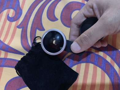 Lensa Tambahan Hand Phone fish Eye