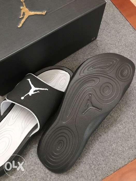 10535a589df7 Nike Jordan Hydro 6 Slides in Black Wolf Grey Sandals Men size 10 in ...