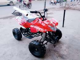 Revers gear sports quad atv 4wheels 124cc