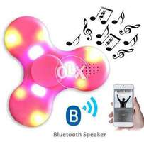 Fidget Spinner LED Light With Bluetooth Music and Usb port