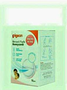 Pigeon Breast Pads Honeycomb 12 pcs