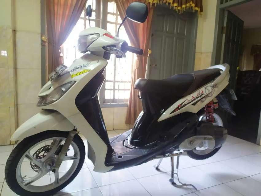 Jual Mio Smile 2008 Kondisi Gres Full Modif Buat Anak Muda Tua Cocok Motor Bekas 806641809